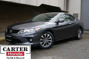 2014 Honda Accord EX-L-NAVI CPE + NO ACCIDENTS + MUST GO!!