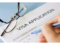 Visa application filling services available