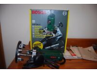 Bosch router 1/4 inch complete kit with box