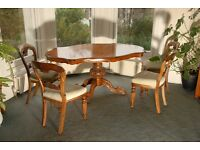 Set of Four Antique Victorian Balloon Back Dining Chairs