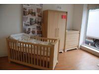 Charnwood Nursery bedroom furniture set Brand new