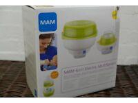 Mam 6 in 1 Multi steam electric steriliser and Bottle warmer