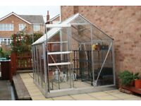 glass aluminium green house and accesories