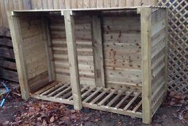 new 6 ft log store