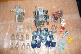 Syfy toys including Star Wars