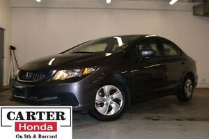 2015 Honda Civic LX + LOCAL + CERTIFIED + YEAR-END CLEAROUT!!