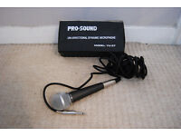 Microphone: ProSound Professional Dynamic Vocal Microphone