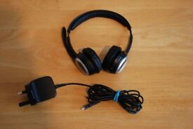 Logitech A-00006 ClearChat Wireless USB Headset Black.