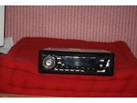 jvc kd-g502 cd mp3 cd player 50wx4 as new
