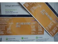 BEYONCÉ & JAY Z ON THE RUN TOUR 2 (MILAN TICKETS X2)