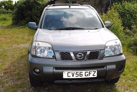 NISSAN X-TRAIL AUTOMATIC COLUMBIA EDITION 2.5 PETROL 2006 MOT HISTORY ONLY £2495
