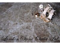 Brown Empredor Polished Marble Tiles (9m2 JOBLOT DEAL)