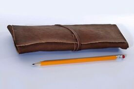 Kurtis Paul Leather Pencil Case...............Brand New