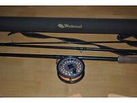 shakespear 13ft spey rod+hardy viscount 150 salmon reel