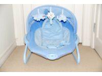 Bruin Baby Bouncy Chair Reclining - blue