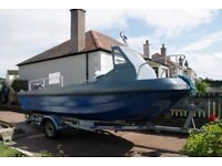 Wilson Flyer Boat, Outboard and Trailer