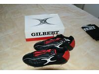 Gilbert SideStep Rugby Boots, New, Size 10