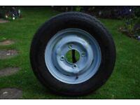 """13"""" trailer wheel/tyre"""