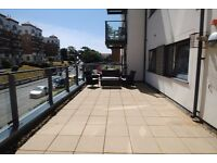 Stunning two bed BEACH property with HUGE TERRACE!
