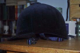 Champion Velvet Riding Hat Size 7 1/8 (58cm)