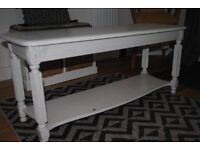 French antique style low table with shelf (Free)