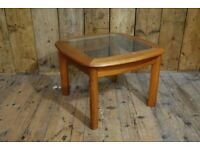 Coffee table Danish teak era mid century modern vintage gplanera