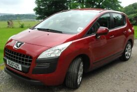 Peugeot 3008 in Red stunning car