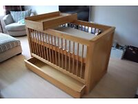 Baby/Toddler cot bed (M&S)