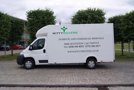 Witty Movers - Moving, Removal and Man & Van Services - Experienced, Reliable & Professional