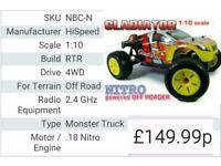 new nitro car fore sale 90 ono