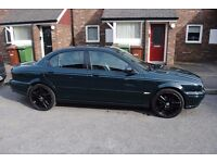 Jaguar X Type 2.0 D Long MOT