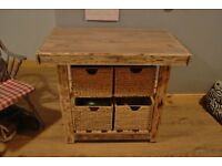kitchen unit base unit handmade pallet wood furniture