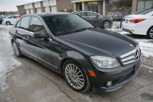 2010 Mercedes-Benz C-Class 250/4MATIC/AWD/LEATHER/DUAL ZONE CLIM