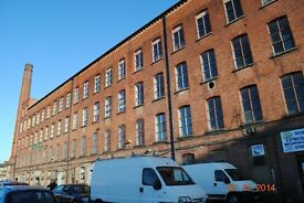 Space avail in Blackstaff Mill, Ideal for Artists Start ups, Victorian Linnen Mill only 20 min walk