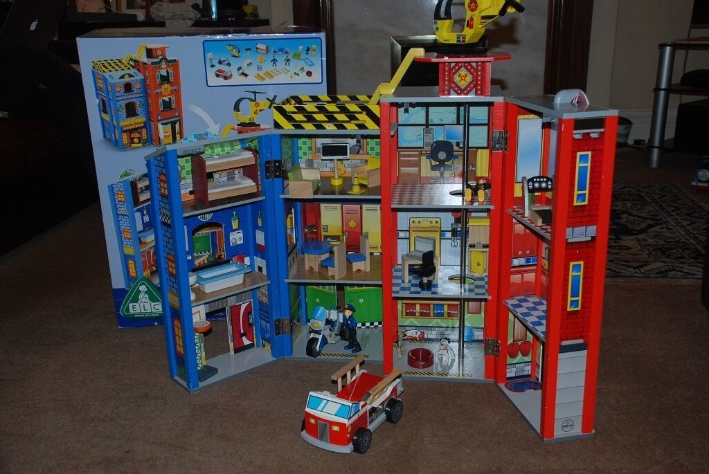 ELC Wooden Fire Station and Police Station