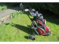 Slazenger Panther X golf clubs