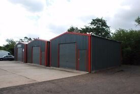 Small starter units to rent suitable for small business or storage