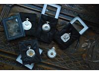 5 x Atlas Edition Pocket Watches