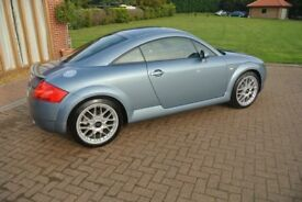 Audi TT 1.8 T Coupe Quattro 3dr Excellent Condition Leather Seats Low Mileage