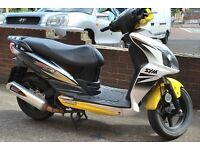 Sym Jet 4 125cc Scooter, Long MOT, Sports Exhaust **RIDE AWAY TODAY**