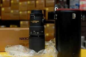 Nikon AF 200mm Micro - Like new condition