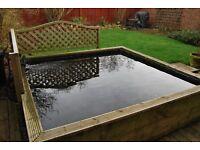 Complete Garden Pond set up