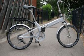 For sale Giant Halfway 7 speed folding bicycle.