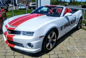 2011 CHEVROLET CAMARO CONVERTIBLE SS INDY PACE CAR,CUIR ORANGE,F