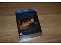 THE HOBBIT 3D BLURAY EXTENDED EDITION BOX SET - BRAND NEW AND SEALED