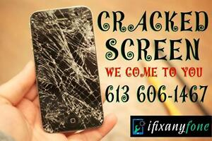 iPhone Screen Repair – iPhone 5-5s-5c SE – iPhone 6 – iPhone 6 Plus – iPhone 6s - Cracked Screen Replaced - 613 606-1467