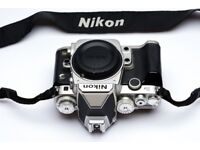 Nikon DF full frame DSLR camera body (SILVER) with grip handle and extra batteries (Boxed) £995