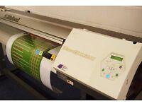 "Roland VP540i Printer - wide format Print and Cut 54"" Eco Solvent Printer NOT Mimaki"