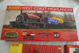Hornby OO guage Train Set