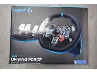 Logitech G29 Driving Force PS3/PS4 Racing Wheel £170